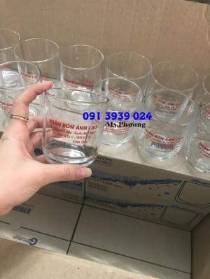 In ly thủy tinh, in ly thủy tinh làm quà tặng cho khách hàng, in ly thủy tinh giá rẻ