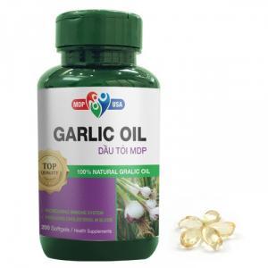 Garlic Oil - Dầu Tỏi MDP - Tăng cường đề kháng, kiểm soát mở máu