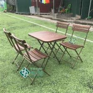 Bàn ghế gổ cafe giá rẻ tại xưởng sản xuất HGH 247