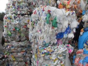Máy ép vỏ chai nhựa
