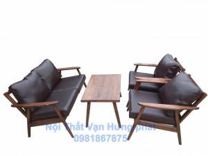 Bộ bàn ghế sofa cafe với phong cách cổ điển