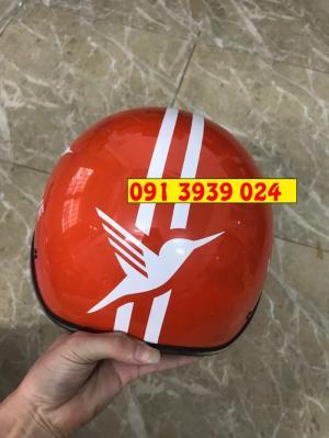 Nón bảo hiểm công ty, nón bảo hiểm in logo thương hiệu