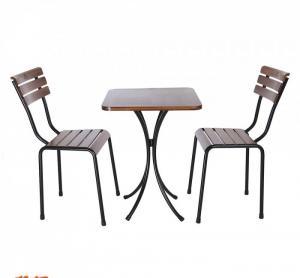 Bàn ghế gổ cafe giá rẻ tại xưởng sản xuất HGH 255