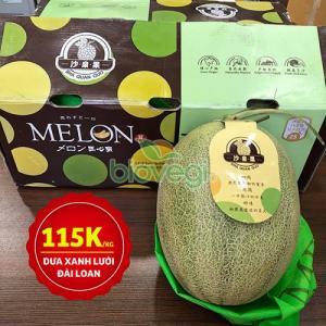 Dưa xanh lưới Đài Loan - hoa quả nhập khẩu Biovegi