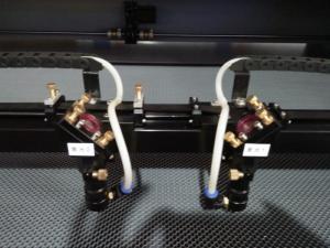 Máy laser 1610- 2 đầu cắt vải ngành may giá rẻ