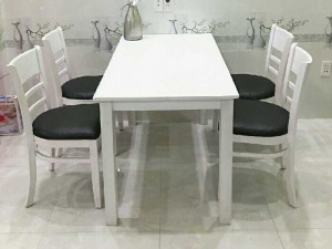 Bộ bàn ghế ăn cabin đẹp rẻ VD027