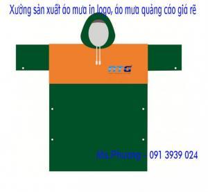 Xưởng áo mưa, sản xuất áo mưa, áo mưa quà tặng