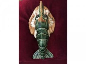 Tôm hùm sứ Biên Hoà xưa, lành, dày, chắc chắn, kt dài 29 cm