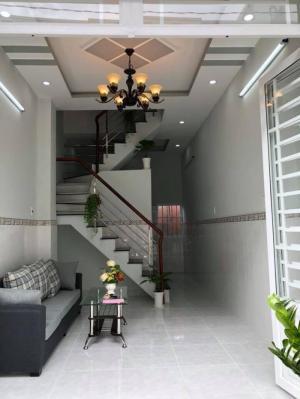 Bán nhà đường Nguyễn Bình, Khu Ủy Ban Huyện Nhà Bè, TP. HCM. DT 3.2m x 12m. 2 lầu 4PN