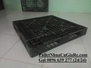 Pallet nhựa cũ 1100x1100x125mm