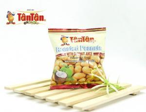 10 gói Đậu phộng nước cốt dừa Tân Tân 15g (1 dây 10 gói)