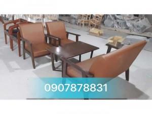 Bộ sofa gỗ giá rẻ