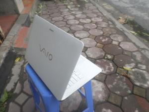 Laptop cũ Sony Vaio Fit Svf14– Core i3 3237U, trắng đẹp, nguyên tem.