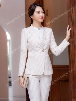 Địa chỉ may đồng phục áo vest nữ công sở đẹp cao cấp