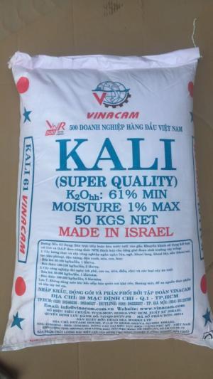 Kali clorua, Kali trắng, Kali đỏ bổ sung khoáng chất cho tôm