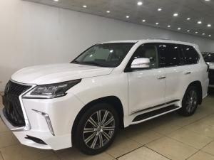 Bán Lexus LX570 màu trắng, nhập mỹ,Model và đăng ký 2016, full option,xe đẹp,biển Hà Nội