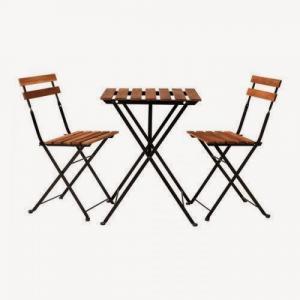 Bàn ghế gổ cafe giá rẻ tại xưởng sản xuất HGH 673