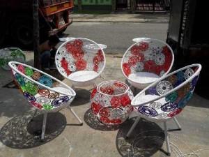 Ghế đồng tiền giá rẻ tại Sài Gòn