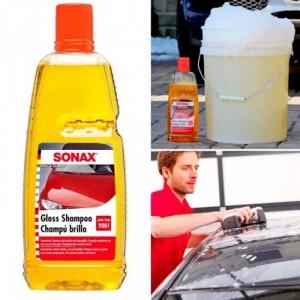 Nước Rửa Xe Đậm Đặc Sonax Gloss Shampoo 1000ml - : MSN388388