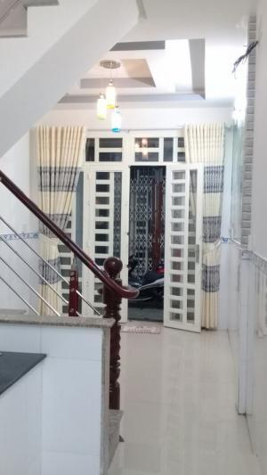 Bán nhà hẻm 2020 đường Huỳnh Tấn Phát, Nhà Bè, DT 3m x 9m, 2 lầu 4PN.