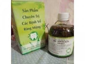 Nước sút răng miệng Trần Kim Huyền