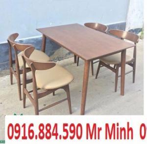 Bàn ghế gổ cafe giá rẻ tại xưởng sản xuất HGH 703