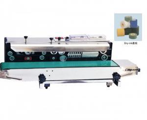 Máy hàn miệng túi zipper liên tục có in date FRD1000, máy hàn mép túi liên tục có in date cho túi zipper