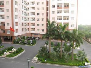 Cần bán gấp căn hộ Him Lam 6A, Dt 70m2, 2 phòng ngủ, nhà rộng thoáng mát, sổ hồng