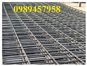 Nhà máy sản xuất Lưới hàn chập phi 5, lưới đổ bê tông phi 6