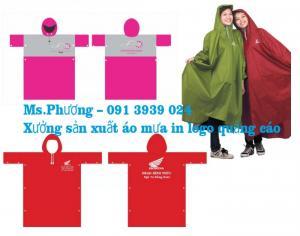 Công ty làm áo mưa quảng cáo giá rẻ