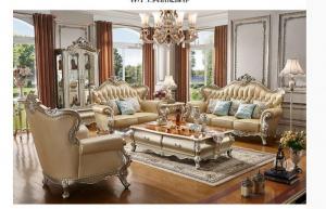 Bộ bàn ghế sofa phong cách tân cổ điển hoàng gia cao cấp