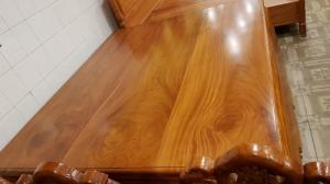 Sập nằm gỗ cao cấp mặt sập dày 6cm