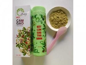 Cám gạo trà xanh Anthy 0334772442