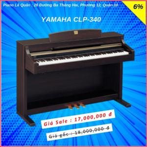 Piano Yamaha CLP-340. BH 2 năm