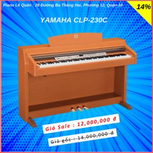 Piano Yamaha CLP-230C. BH 2 năm