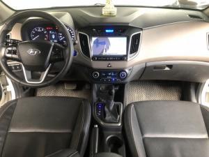Bán Hyundai Creta 1.6AT màu trắng máy xăng số tự động nhập Ấn Độ 2016 biển Sài Gòn đi 45000km