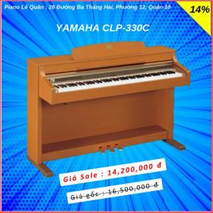 Piano Yamaha CLP-330C. BH 2 năm