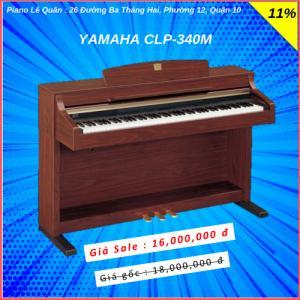 Piano Yamaha CLP-340M. BH 2 năm