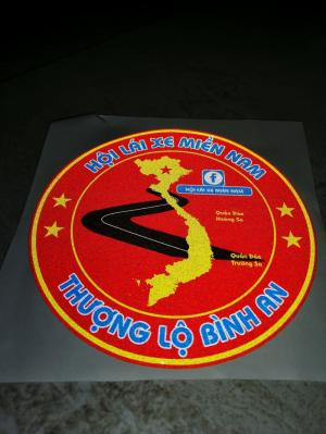 In decal 3m phản quang, decal xi, decal 7 màu