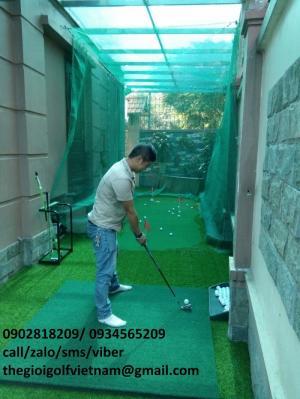 Thiết kế thi công sân golf mini