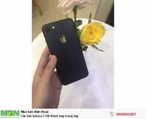 Cần bán iphone 7-128-Black máy trưng bày