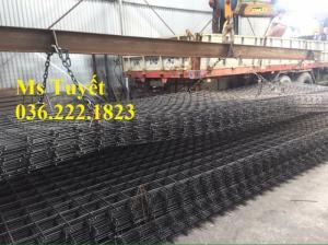 Lưới thép hàn D4, oo100x100, 200x200, thép đen, thép mạ kẽm, thép sơn tĩnh điện