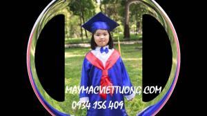 Xưởng may áo tốt nghiệp mầm non, lễ phục tốt nghiệp mầm non giá rẻ