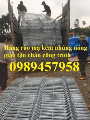 Hàng rào mạ kẽm nhúng nóng phi 5 ô 50x150, 50x200, 50x50 giá tốt