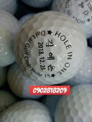 Dịch vụ in logo lên banh golf, hộp bóng golf quà tặng