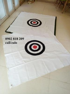 Tâm golf mục tiêu màu trắng giá rẻ