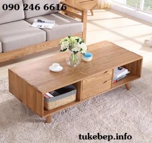 Bàn sofa - bàn trà đơn giản tiện lợi cho phòng khách