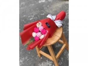 Hoa hồng sáp thơm Vĩnh cửu nhiều màu đẹp