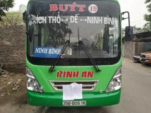 Bán đấu giá lô xe Bus 2017