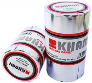 Giấy in nhiệt khami k80 phi45 - giấy sakura k80 phi65